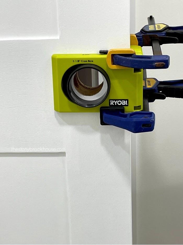 Fixing Door hole size