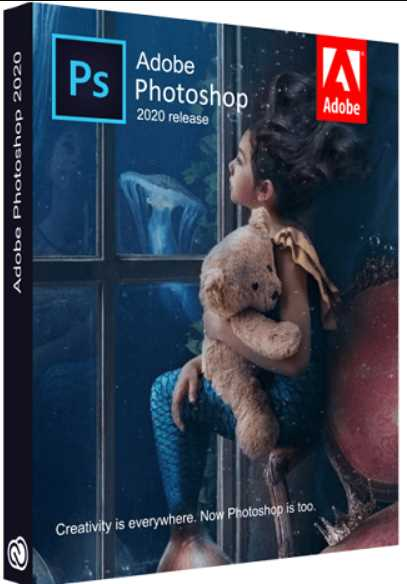 Adobe Photoshop 2020 v21.1.3.190 poster box cover