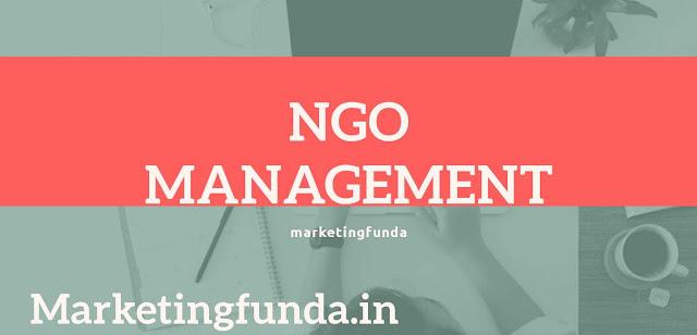 NGO management in Hindi