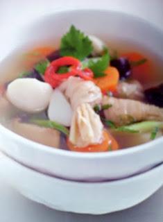 Gambar Resep Sup Bakso Tahu Jamur