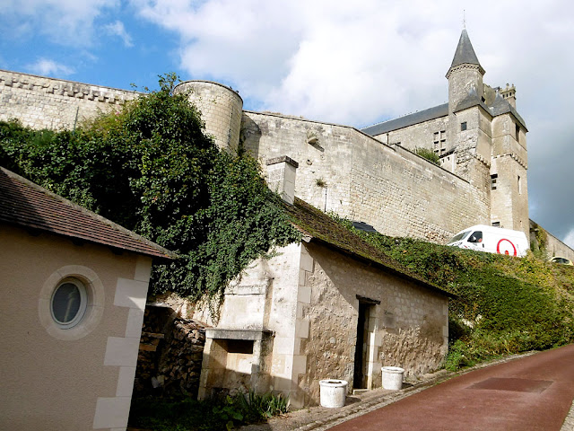 Four banal (communal oven) below chateau, Indre et Loire, France. Photo by Loire Valley Time Travel.