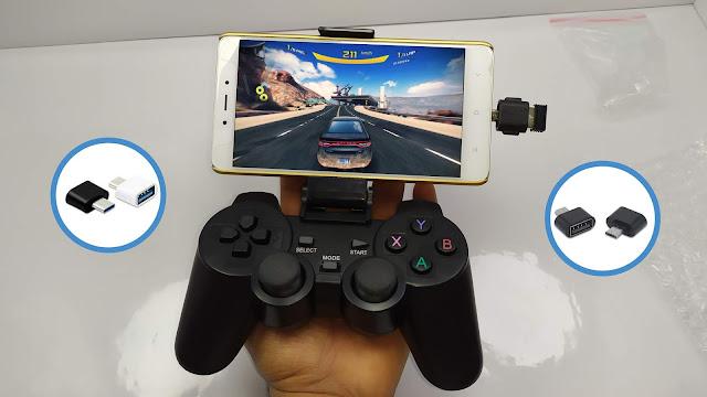 لوحة تحكم لاسلكية للألعاب الهواتف و التيفي بوكس - Wireless Gamepad 2.4G For PS3/PC/Android & TV Box