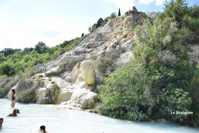 Terme libere in provincia di Siena: Bagno Vignoni