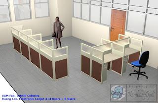 Meja Kantor Semarang Jawa Tengah Meja Sekat Kantor Knockdown