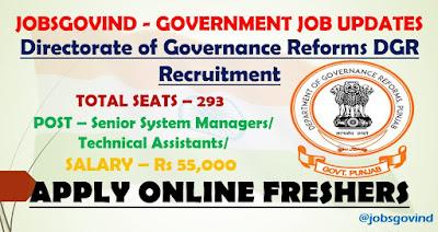 DGR Recruitment 2021
