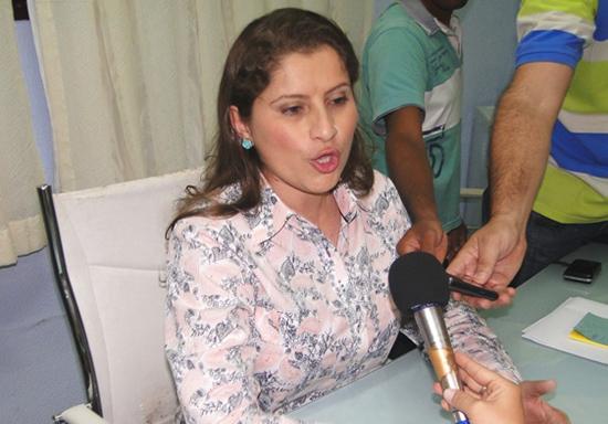 Danúbia Carneiro, primeira-dama de Chapadinha, acusou ex-gestoras de corrupção