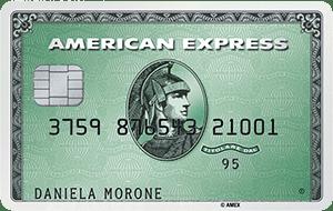 Carta America Express Verde