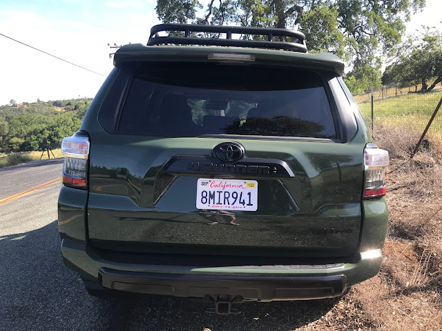 Rear view of 2020 Toyota 4Runner 4X4 TRD PRO