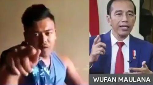 Ternyata, Ini Identitas Pria Aceh Hina Jokowi PKI Muka A*jing B*bi, Hidupnya Susah Banget