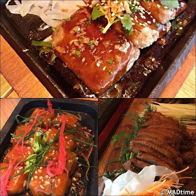 Los platos de El Buda Feliz