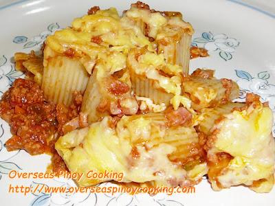 Baked Rigatoni Pinoy Style Recipe
