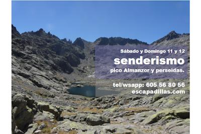 Pico Almanzor y perseidas con el grupo de senderismo y experiencias solidarias - escapadillas.com