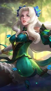 Odette Butterfly Goddess Heroes Mage of Skins V2
