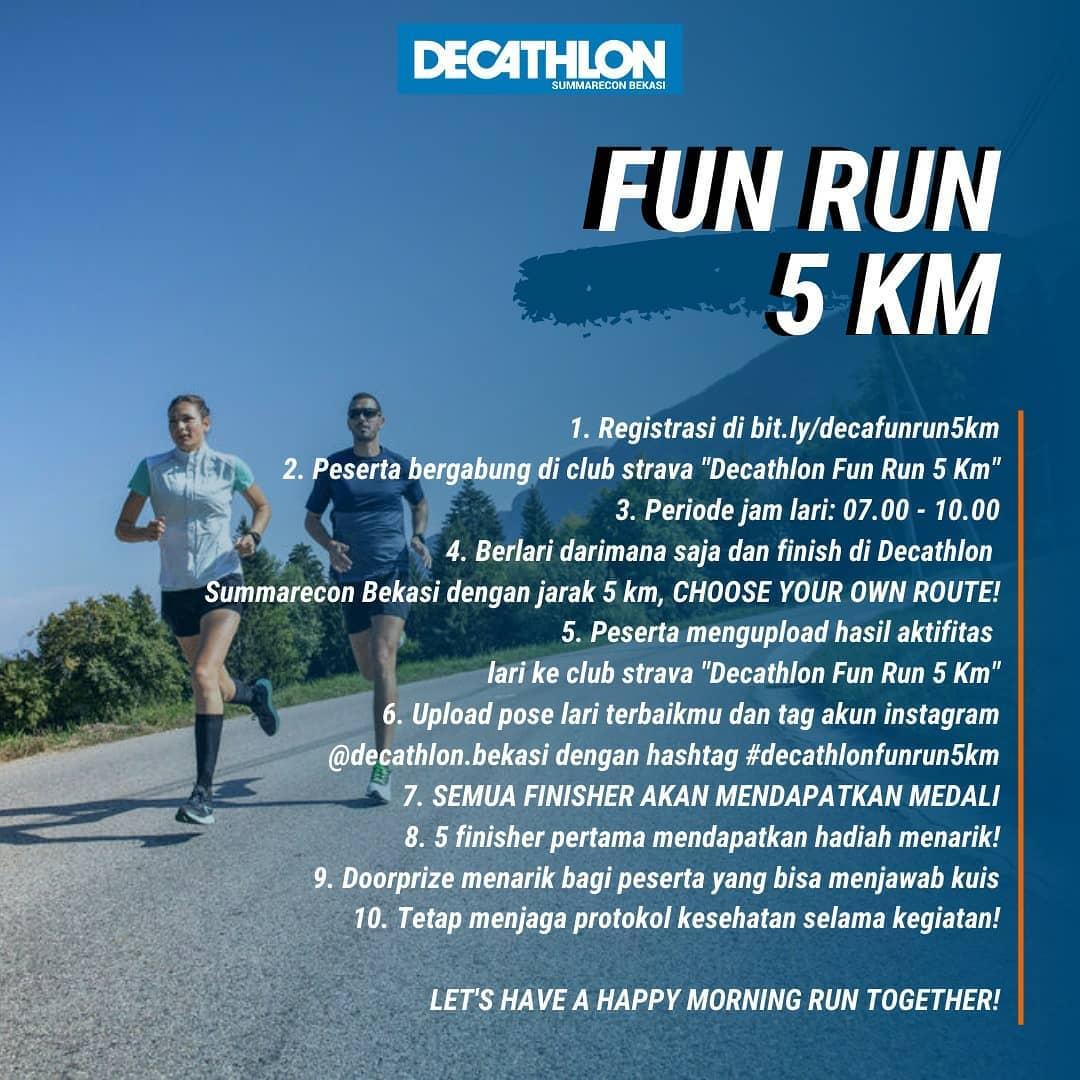 Decathlon Fun Run • 2021