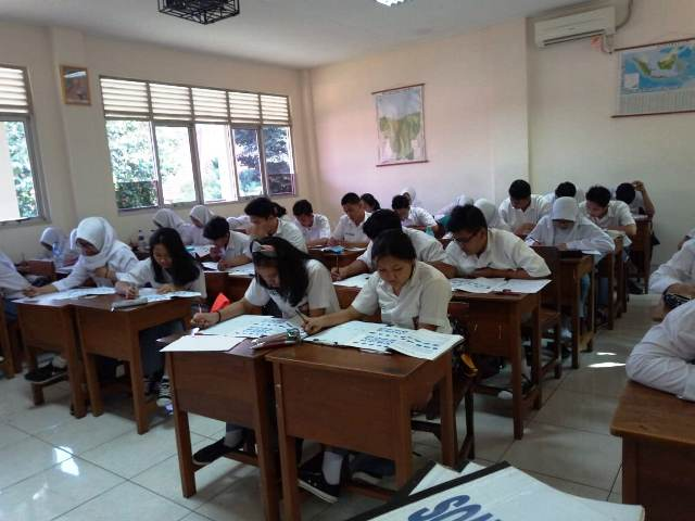Kegiatan Namira Consulting Melaksanakan Psikotes di Sekolah-Sekolah