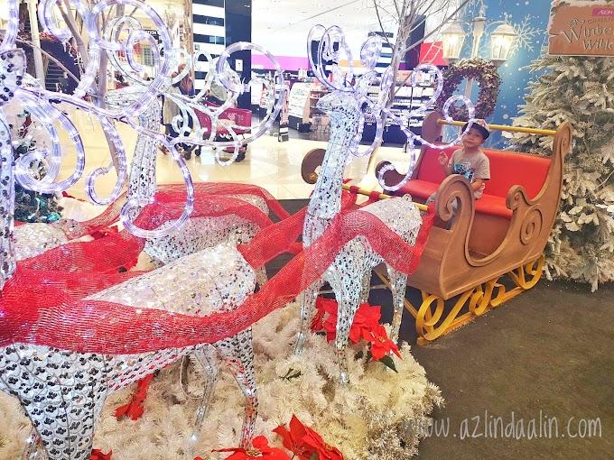 Merry Christmas! Layan Deko Krismas di AEON MALL Shah Alam