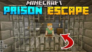 mcpe prison escape