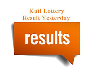 Kuil Lottery Result Yesterday