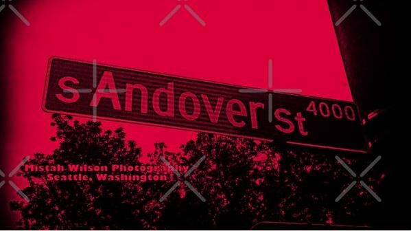 Andover Street, Seattle, Washington by Mistah Wilson