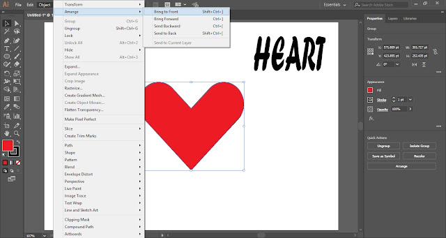Wrap Text in Shape in Adobe Illustrator