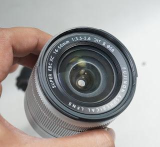 Lensa Fujifilm 16-50mm OIS 2 Silver