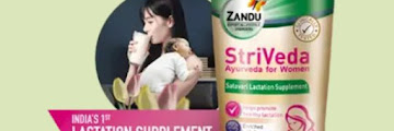 Get Free Zandu Striveda Lactation Supplement For New Mother