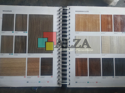 Warna HPL kayu kitchen set ponorogo