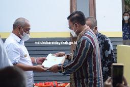 Benyamin Noach Resmikan Perwakilan Kantor Pertanahan di Maluku Barat Daya