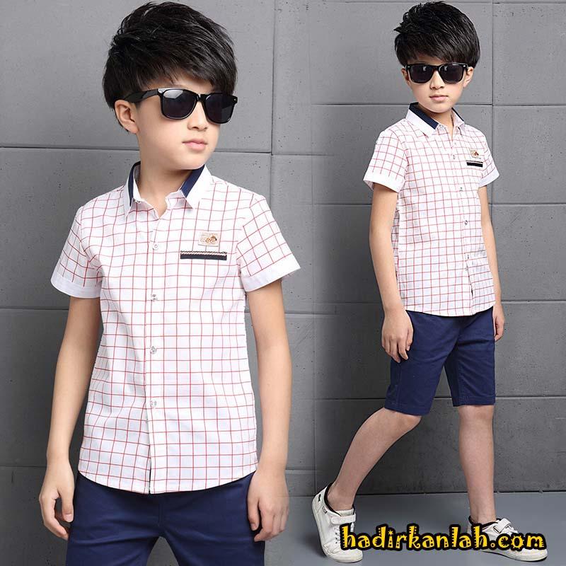 Baju Kaos Dan Kemeja Busana Muslim Anak Anak Trendy