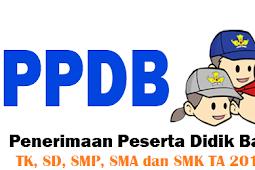 Beberapa Syarat Yang Harus Dimiliki Oleh Calon Peserta Didik Baru TK, SD, SMP, SMA/SMK 2019/2020