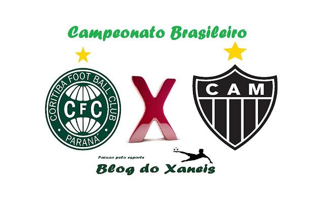 Coritiba x Atlético MG Brasileirão Série A 06/11/2016, 19:30 Couto Pereira