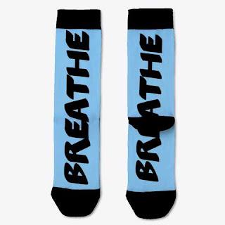 Breathe Socks Sky Blue