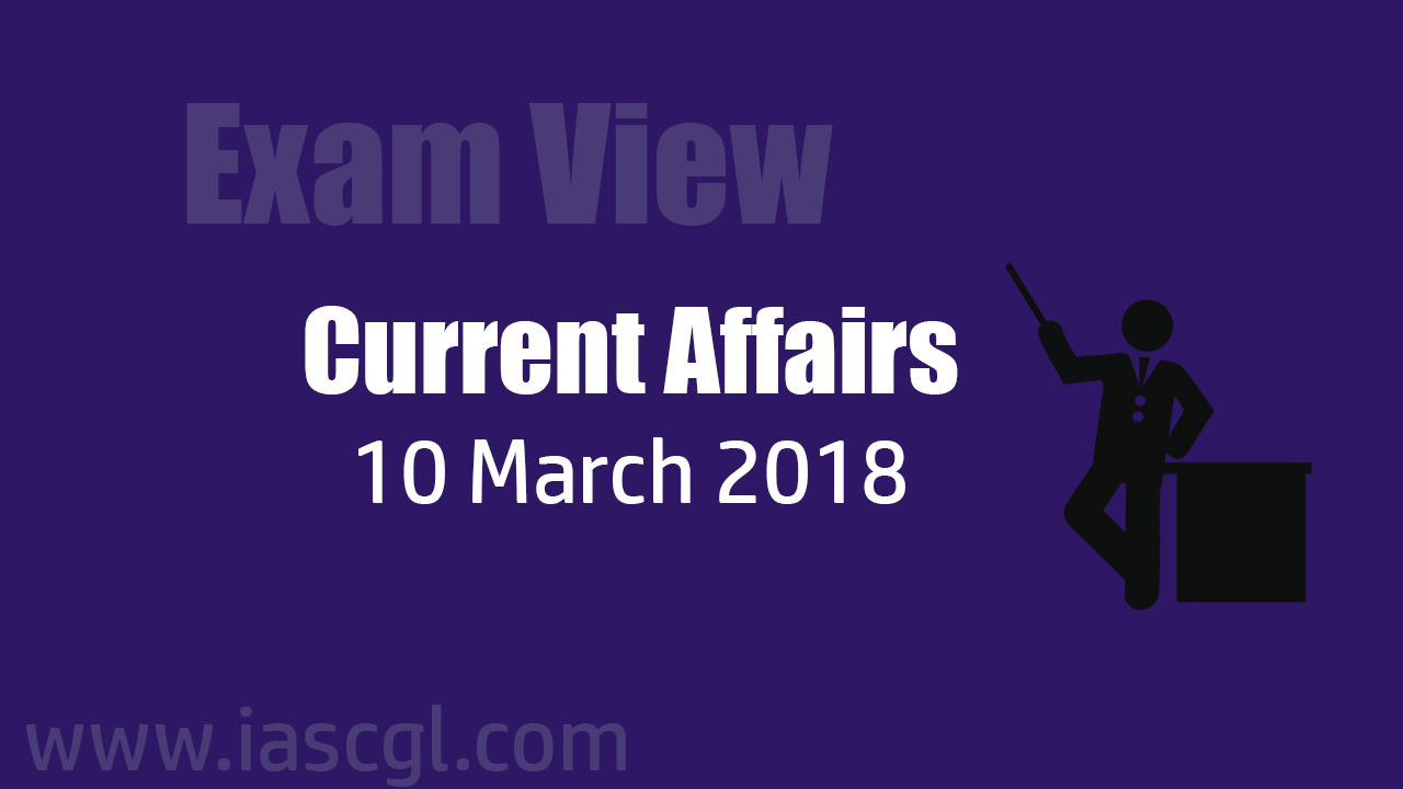 Current Affair 10 march 2018