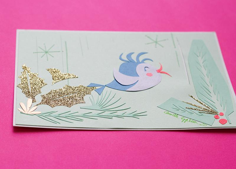 Camille Epplin paper cut