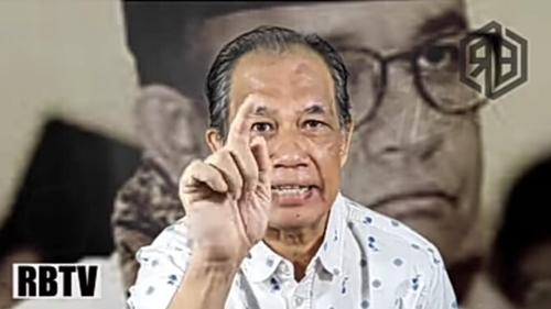 Bongkar Kebodohan Anies Baswedan, Raja Bonar: Gubernur Goblok, Tidak Malu