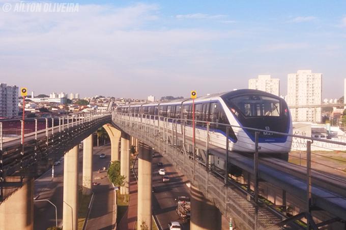Interferência na via prejudica Linha 15-Prata do Monotrilho nesta quarta-feira, dia 1° de janeiro