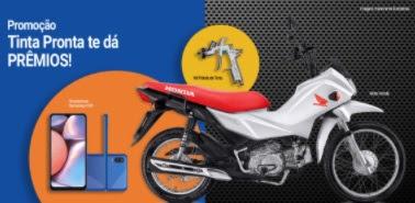 Promoção Tinta Pronta Te Dá Prêmios 2021