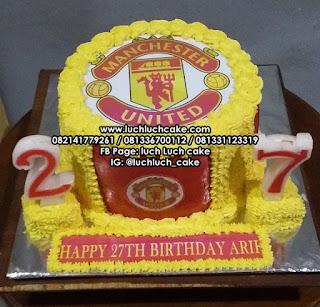 Manchester United Kue Ulang Tahun