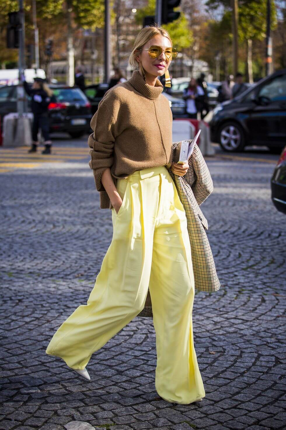 Yellow Camel Outfit