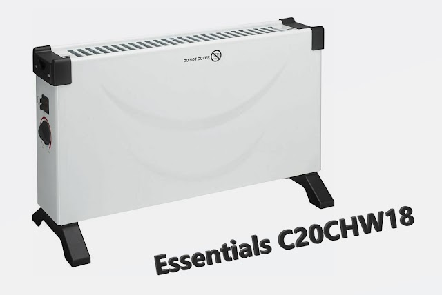 Essentials C20CHW18 - cheap portable convector