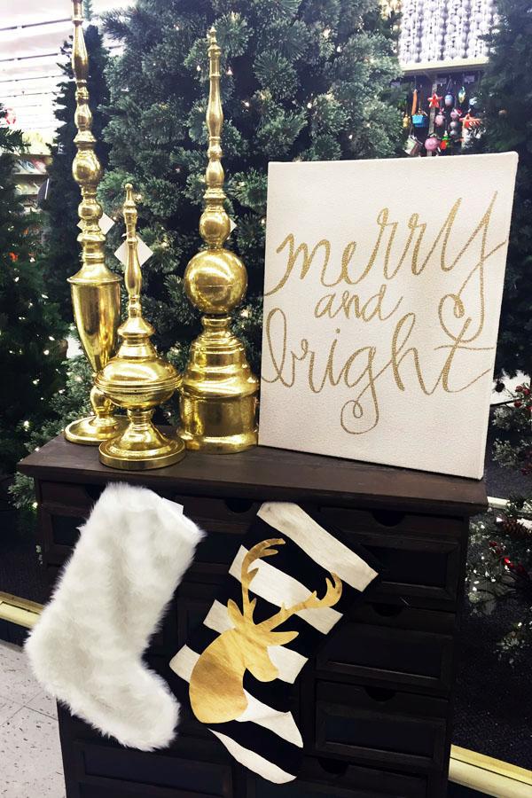Modern Glam Hobby Lobby Christmas Stockings Decor