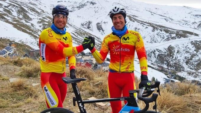 Torres y Mora rematan su estancia en Sierra Nevada