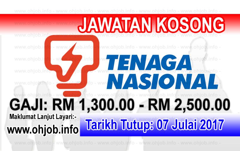 Jawatan Kerja Kosong Tenaga Nasional Berhad - TNB Remaco logo www.ohjob.info julai 2017