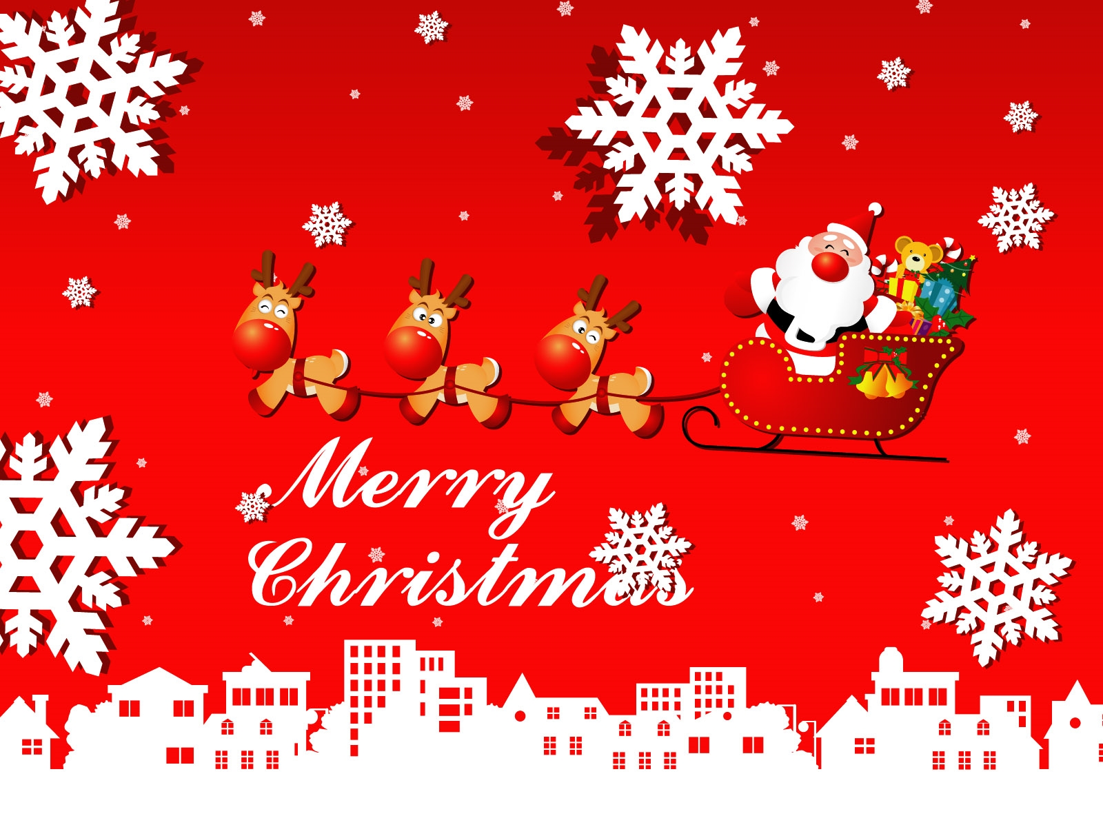 Merry Christmas And Happy New Year 2013 Wallpapers