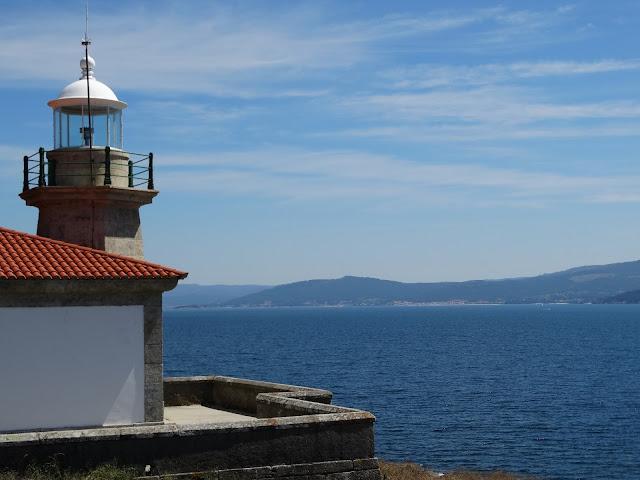 Faro de Montelouro en Louro, Muros