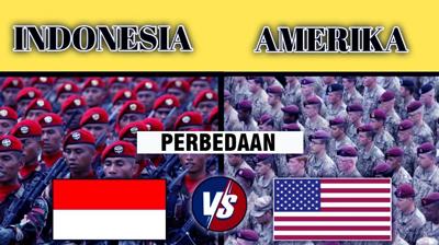 militer indonesia vs amerika