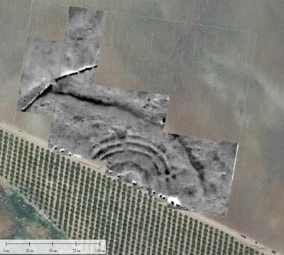 First Bell Beaker earthwork enclosure found in Spain
