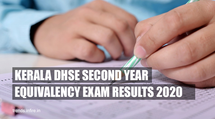 Kerala DHSE Second Year Equivalency Exam Results 2021