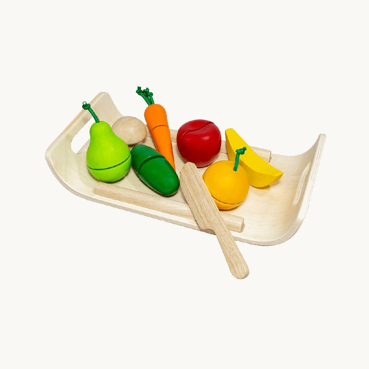 Plan Toys Assorted Fruit and Vegetable Set | MightyNest
