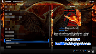 How To Install Phoenix Addon On Kodi